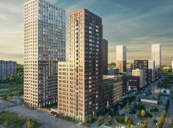 Высота корпусов от 6 до 32 этажей